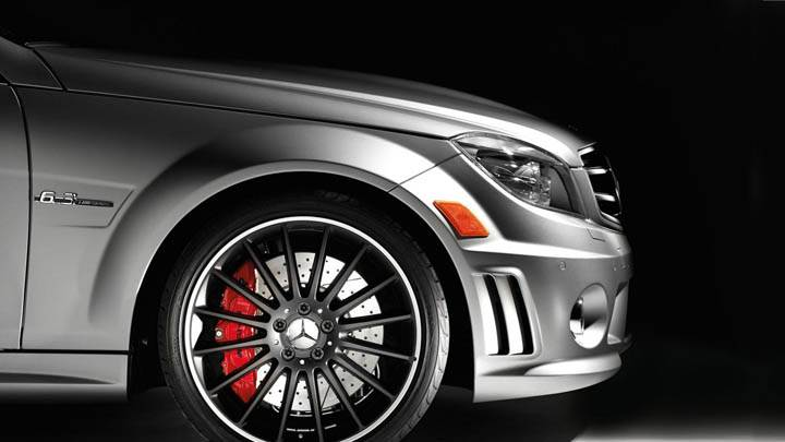 Mercedes C63 AMG Affalterbach Edition Tire & Alloy
