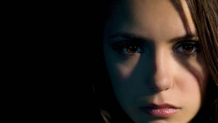Nina Dobrev Face Closeup Really looking Sweet