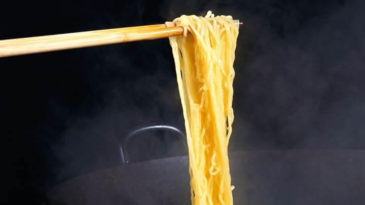 Noodles With Stick