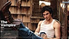 Ian Somerhalder Showing His Body