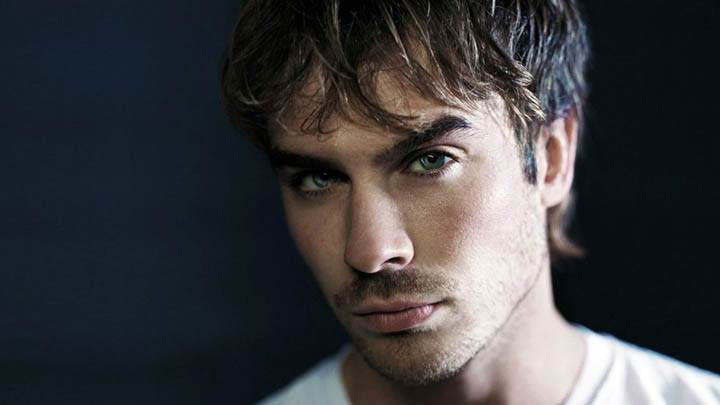 Smart Ian Somerhalder Face Closeup