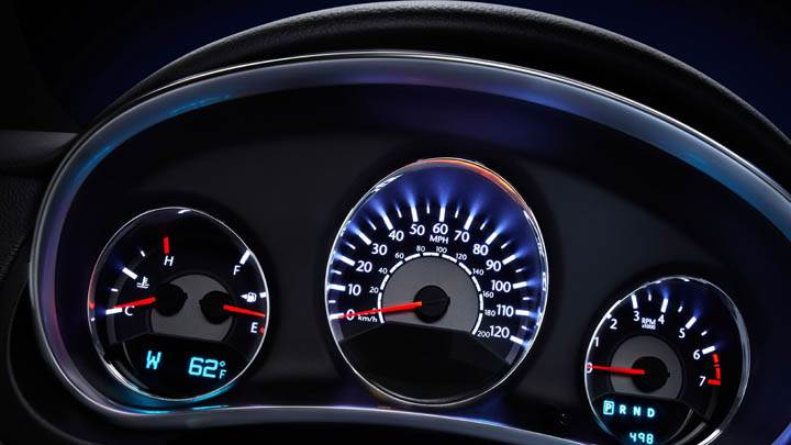 Speedometer 2011 Chrysler 200 Convertible