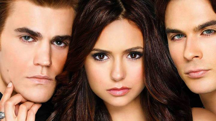 Star Facecloseup in Vampire Diaries