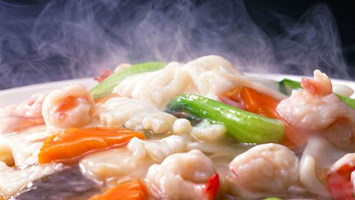 Steamy Hot Dish