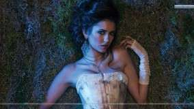 The Vampire Diaries – Katherine in Laying on Grass