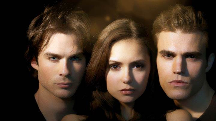 Three Looking Awesom in Vampire Diaries