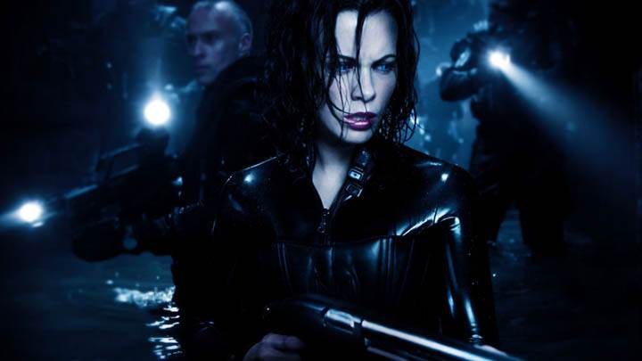 Underworld Evolution Selene With Shotgun