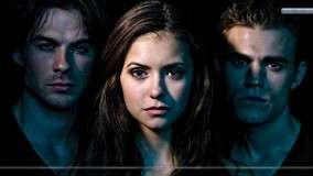 Vampire Diaries All Three Face Closeup