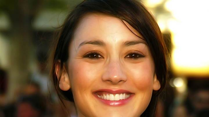 Bree Turner Smiling At Camera Face Closeup