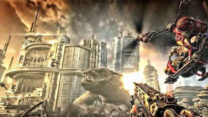 Bulletstorm Widescreen Wallpaper Full HD
