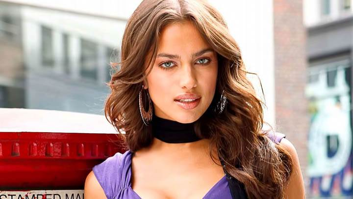Cute Smile of Irina Shayk