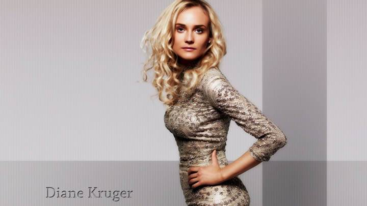 Diane Kruger Side Pose