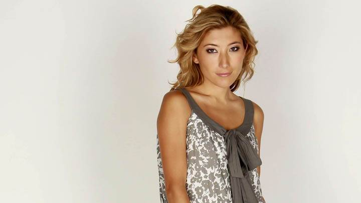 Dichen Lachman Photoshoot Side Pose