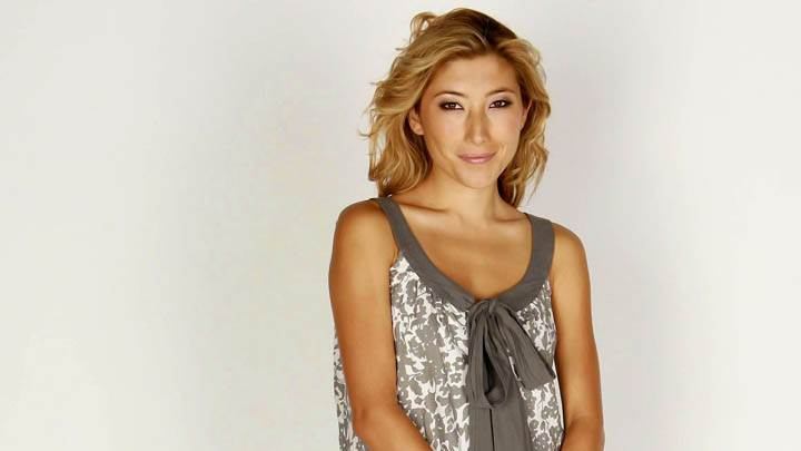 Dichen Lachman Smiling Looking Cute