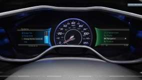 Ford Focus EV Speedometer