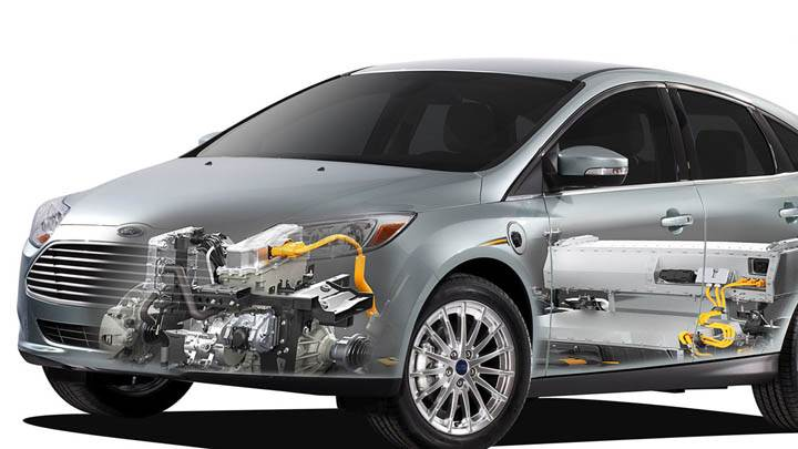 Ford Focus EV System Detailed