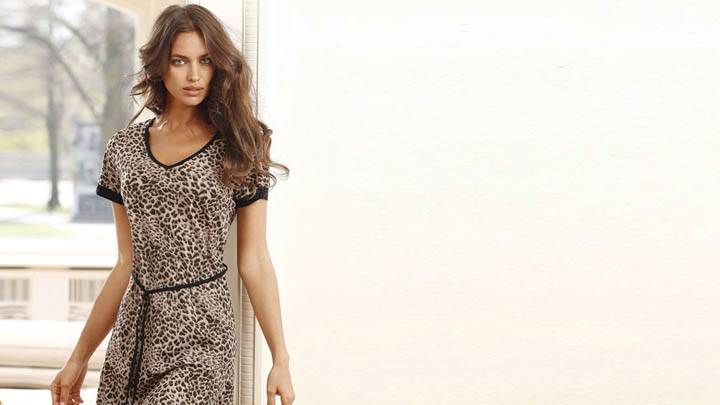Irina Shayk Looking Sweet Standing