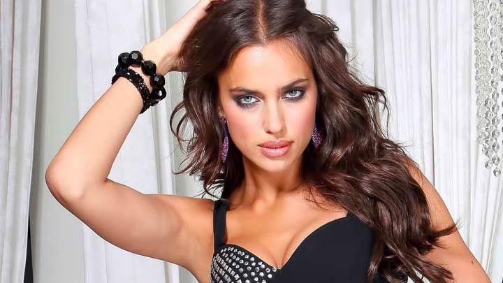 Irina Shayk in Black Dress