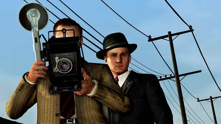 L.A. Noire Clicking The Picture