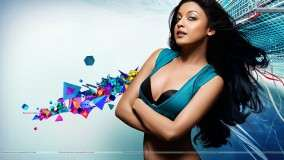 Tanushree Dutta Pose In Blue Dress