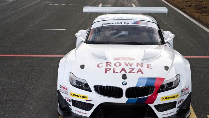2011 BMW White Color Z4 GT3