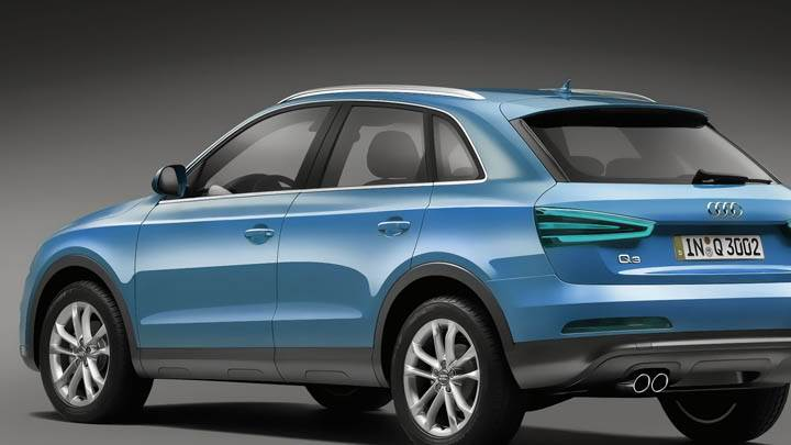 2012 Audi Q3 Green Color
