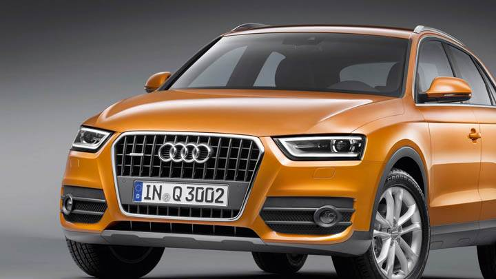 2012 Audi Q3 Orange Color