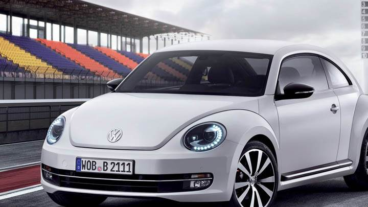 2012 Volkswagen Beetle on Race Course
