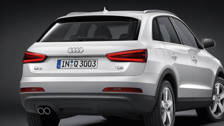 Audi 2012 Q3 White Color