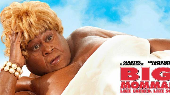 Big Mommas – Layinng Face Closeup