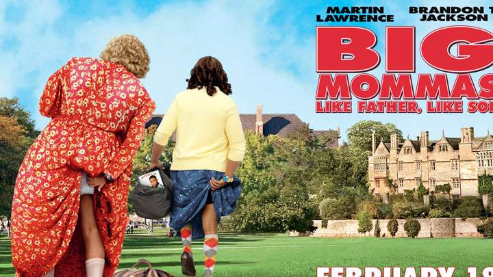 Big Mommas – Martin Lawrence and Brandon T. Jackson