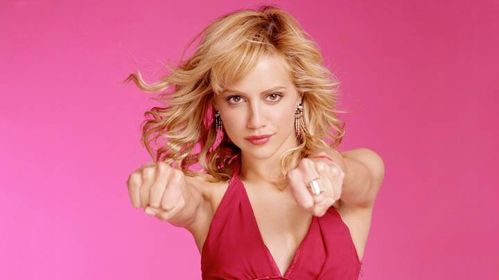 Brittany Murphy in Pink Dress