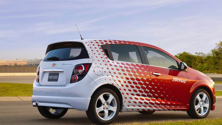 Chevrolet Sonic Z-Spec Back Pose