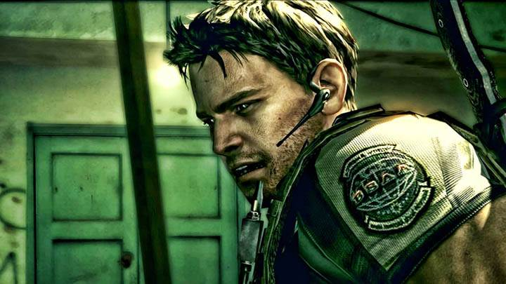 Chris Face Closeup in Resident Evil 5