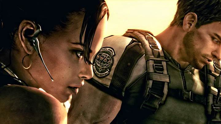Chris and Sheva in Resident Evil 5