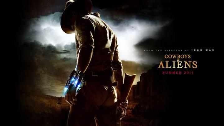 Cowboys & Aliens Cover Poster