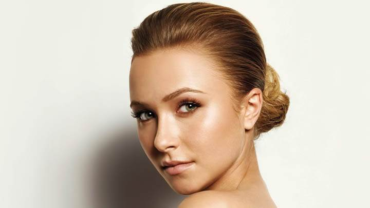 Face Closeup of Hayden Panettiere