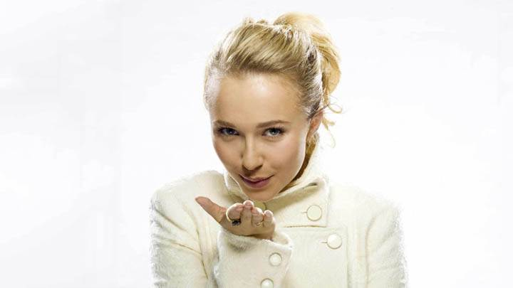 Flying Kiss of Hayden Panettiere