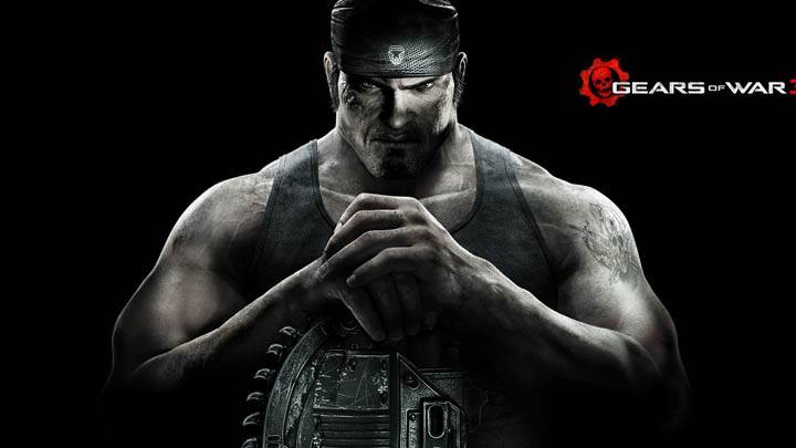 Gears Of War 3 Black Background