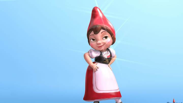 Gnomeo & Juliet Blue Background