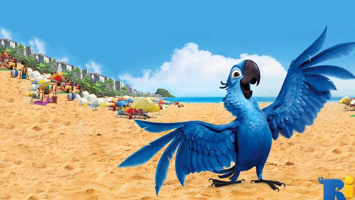 Happy Blu Bird In Rio Movie