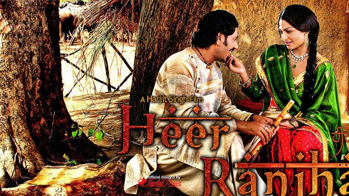Harbhajan Maan and Neeru Bajwa in Heer Ranjha