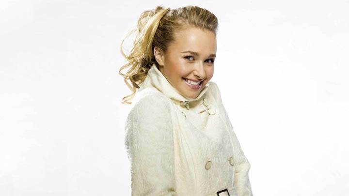 Hayden Panettiere in White Jacket