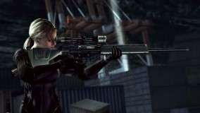 Jill With Sniper Rifle