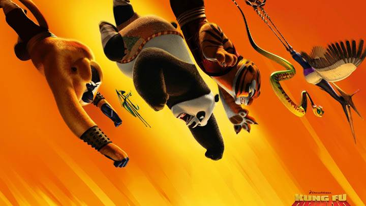 Kung Fu Panda 2 All Flying
