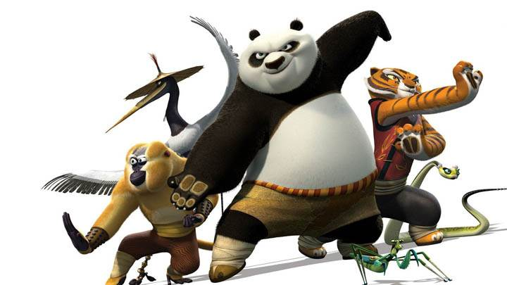 Kung Fu Panda 2 In Fighting Stance