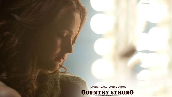 Leighton Meester Face Closeup in Country Strong