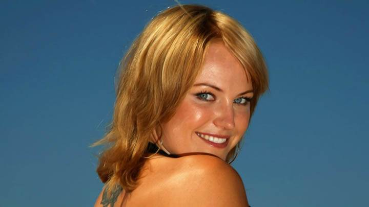 Malin Akerman Face Closeup Smiling