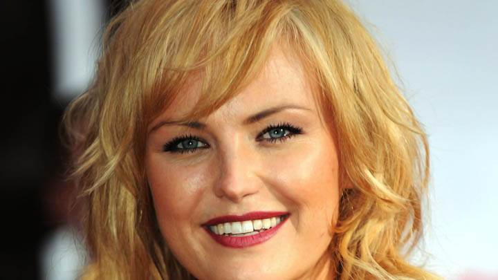 Malin Akerman Smiling Face Closeup