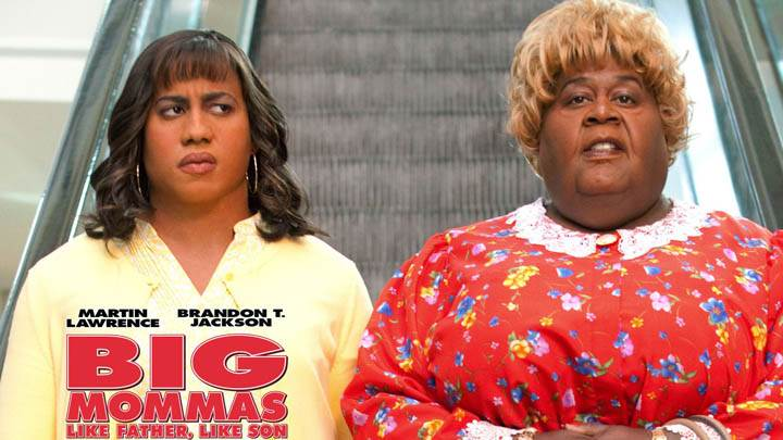 Martin Lawrence and Brandon T. Jackson in Big Mommas Like Father, Like Son